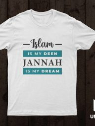 T-Shirt-:-Islam-is-my-Deen