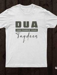 T-Shirt-:-Dua-Can-Change-Your-Taqdeer