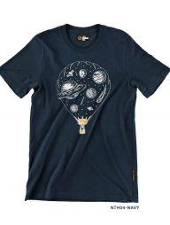 T-Shirt-:-NTH04-Space-Parachute