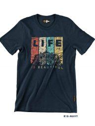 T-Shirt-:-THCR15-Life-Is-Beautiful