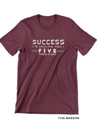 T-Shirt-:-THCD143-Success-is-Calling-You