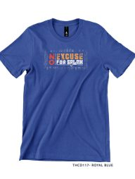 T-Shirt-:-THCD117-No-Excuse-For-Salah
