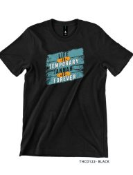 T-SHIRT-:-THCD122-Life-is-Temporary-Jannah-is-Forever