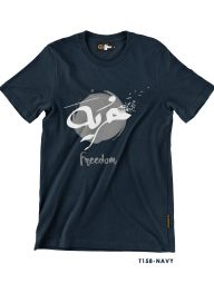 T-Shirt-:-THCD158-Freedom