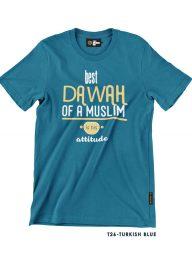 T-Shirt-:-THCD26-Best-Dawah-Of-A-Muslim-Is-His-Attitude