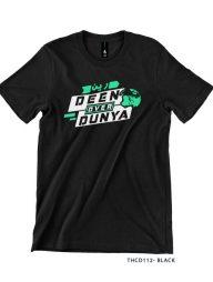 T-Shirt-:-THCD112-Deen-Over-Duniya