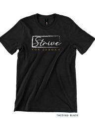 T-Shirt-:-THCD162-Strive-for-Jannah