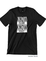 T-Shirt-:-THCD36-Know-Islam-Know-Peace